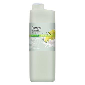 Dicora Gel de ducha Urban Fit Vitamina A leche y melón 750 ml