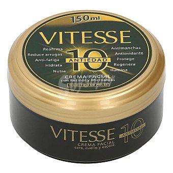 Vitesse Crema antiedad para cara, cuello y escote, apta para todo tipo de pieles A10 150 ml
