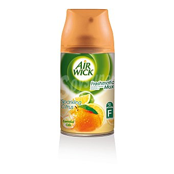 Air Wick Ambientador Automático Recambio Freshmatic Orange & Lemon 1 ud