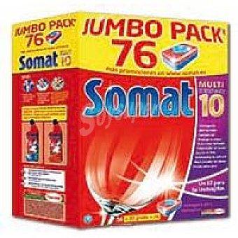 Somat Lavavajillas máquina 10 Caja 56 dosis