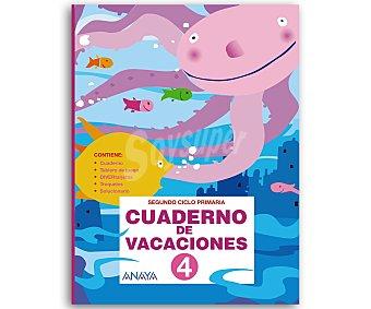 ANAYA Cuaderno Vacaciones 4º 1 Unidad