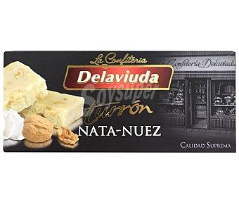 Delaviuda Turrón nata-nuez calidad suprema Tableta 300 g