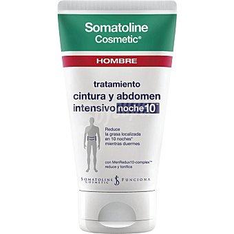 Somatoline Cosmetic Hombre Tratamiento Reductor cintura y abdomen noche 10 tubo 150 ml