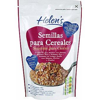 HELEN'S Semillas para cereales con lino arandonos rojos y azules sesamo y mirtilo Envase 200 g