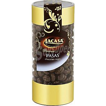 Lacasa-Divinos Pasas con chocolate negro Bote 220 g