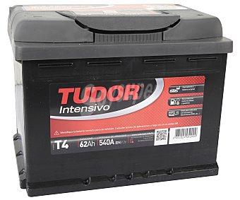 TUDOR Batería de automóvil de 12V y 62 Ah, con potencia de arranque de 540 Amperios y medidas de 242x175x190 milímetros 1 unidad