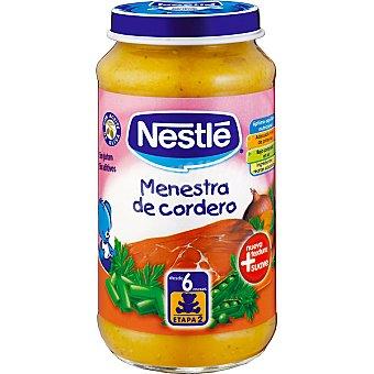 Nestlé Tarrito menestra de cordero Envase 250 g