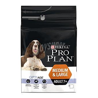 PRO PLAN OPTI Pienso para perros Senior medianos y grandes Pro Plan Optiage +7 3 Kg