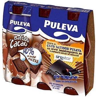 Puleva Batido de cacao Pack 3x175 ml