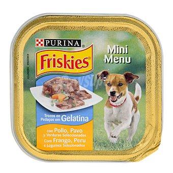 Purina Friskies Mini Menú de pollo-pavo Tarrina 150 g