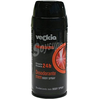 Veckia Desodorante Men Energizante Eficacia 24h Spray 150 ml