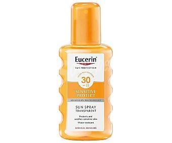 Eucerin Spray solar, con acción protectora, acabado transparente y factor protección 30 (medio) 200 ml