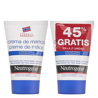 Neutrogena Crema de manos concentrada Pack 2x50 ml