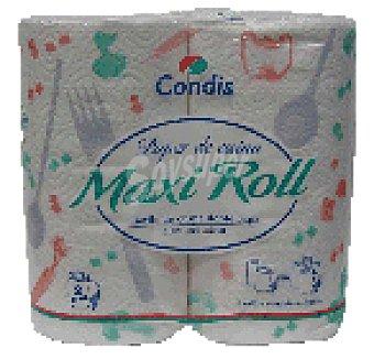 Condis Papel cocin doble Rollo 2 uni