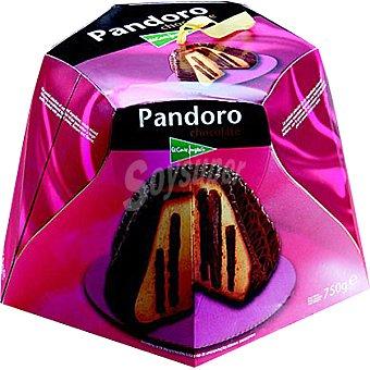 EL CORTE INGLES pandoro de chocolate estuche 750 g