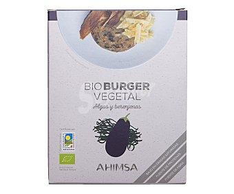 Ahimsa Burguer vegetal de algas y berenjenas 150 gramos