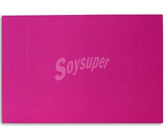 APLI Plancha de foam, goma eva de color rosa y dimensiones 400x600x 2 milímetros 1 unidad