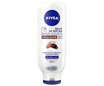 Nivea Body loción Bajo la Ducha con leche y cacao para piel normal-seca 400 ml