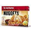 Nuggets de pollo con salsa barbacoa estuche 350 g 12 unidades La Cocinera