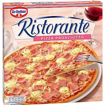 Dr. Oetker Pizza Ristorante prosciutto sabor clásico con jamón y queso suave  estuche 330 g