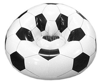 EURASPA Sofa con forma y estampado de balón de futbol, medidas: 1x1 metros 1 unidad