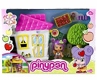 PIN Y PON Minicasitas Serie 2, con Arbol Frutal o con Columpio, Incluye 1 Figura 1 Unidad