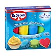 Colorantes alimentarios 4 colores en gel para masas y toppings Estuche 40 g Dr. Oetker