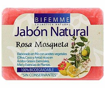 Bifemme Jabón natural de rosa mosqueta 100 gr