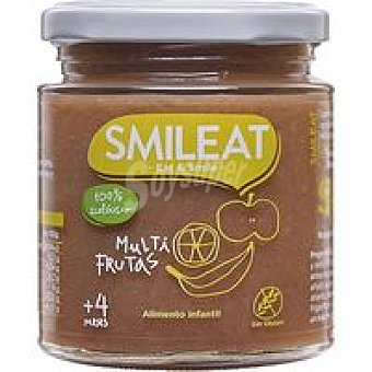 Smileat Potito multifrutas ecológicas Tarro 230 g