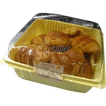 SUEVIA Mini croissants bandeja 276 g 12 unidades