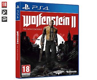Koch Media Videojuego Wolfestein 2 The New Colossus para playstation 4. Género: Acción. pegi: +18 Wolfestein 2 para Ps4
