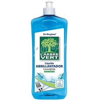L'ARBRE VERT Abrillantador para lavavajillas líquido ecológico Botella 750 ml