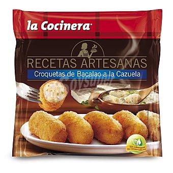 La Cocinera Croquetas de cazuela de bacalao Recetas Artesanas Bolsa 500 g
