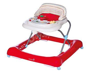 DOREL LUDO Andador para bebé, color blanco y rojo