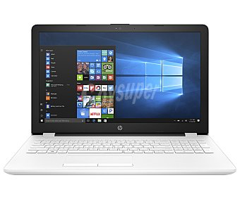 "Intel Portátil 15,6"" HP 15-BS029NS, Intel Celeron N3060, 4GB Ram, 500GB, HD Graphics 400, Windows 10 Intel Celeron N3060, 4GB Ram, 500GB, Intel HD Graphics 400, Windows 10"
