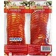 Chorizo vela extra en lonchas pack 2x112,5 g envase 225 g Pack 2x112,5 g Aliada