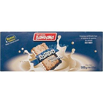 Bandama Galletas tostadas rellenas de crema Estuche 500 g