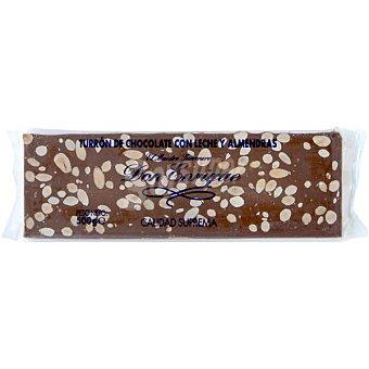 turrón de chocolate con almendras Rilsan tableta 500 g