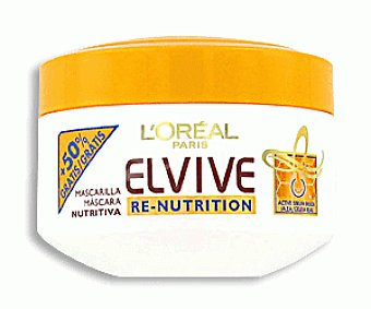 Elvive L'Oréal Paris Mascarilla Renutrición 200ml