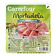 Mortadela aceituna loncha - Sin Gluten 250 g Carrefour