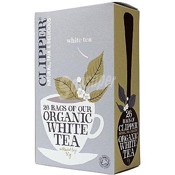 Qbio té blanco ecológico 26 bolsitas Envase 50 g
