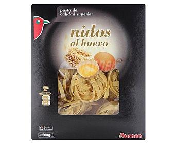 Auchan Pasta nido al huevo Paquete de 500 grs