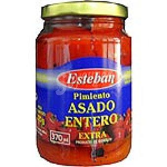 Esteban Pimiento entero asado Frasco 240 g neto escurrido