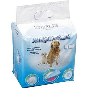 ARQUIZOO ARQUIPADS Empapadores para perros medidas 30x45 cm Paquete 15 unidades