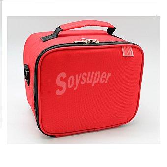 Bolsa portalimentos Con Contenedores de Plástico Rojo 1 Ud