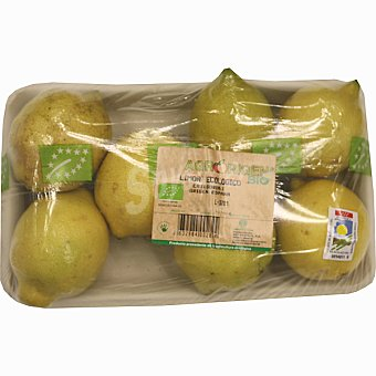 Agrorigen Limones ecológicos Bandeja 700 g peso aproximado