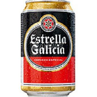 ESTRELLA GALICIA Pilsen Cerveza lata 33 cl