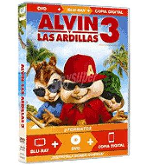 Alvin y las ardillas 3 dvd
