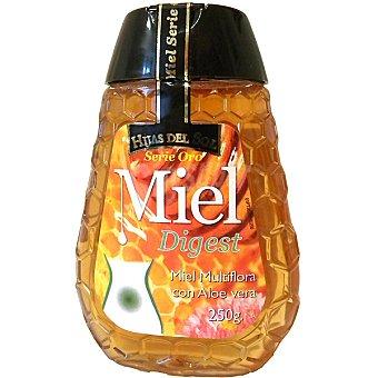 HIJAS DEL SOL Serie Oro Digest Miel funcional de multiflora con aloe vera Bote 250 g