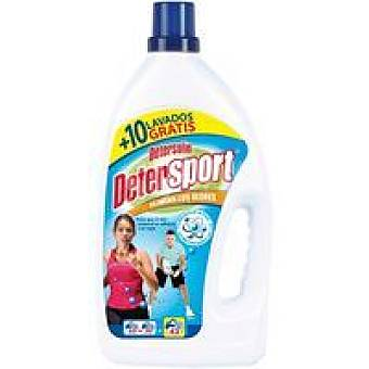 Detersolin Detergente líquido sport Garrafa 40 dosis